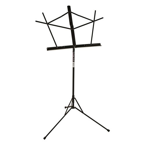 On-Stage SM7122BB Black Sheet Music Stand with Bag